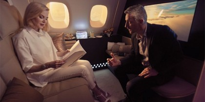 """Reimagine"" Etihad A380 VR experience – featuring Nicole Kidman"