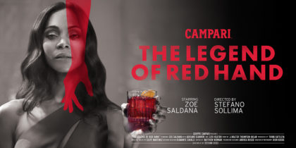 "Campari ""The Legend of Red Hand"""